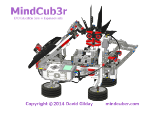 Mindcuber For Ev3 And Nxt